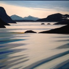 McLauchlan Nipigon Bay. 2001 30 X24 Oil on canvas $7500